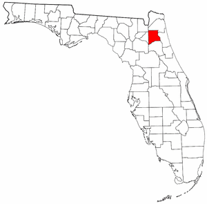 Clay County Florida Map